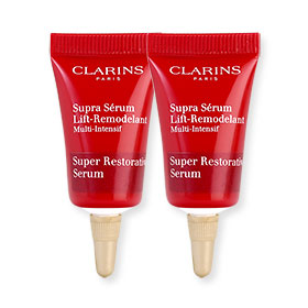 แพ็คคู่ Clarins Super Restorative Serum (3mlx2pcs)