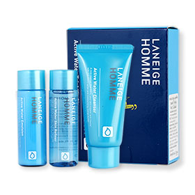 Laneige Homme Active Water Trial Kit 3 Items