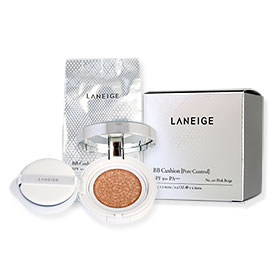 Laneige BB Cushion Pore Control SPF50+ PA+++ (15g x 2Items) #No.21P Pink Beige