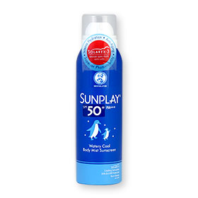 Mentholatum Sunplay Watery Cool Body Mist Sunscreen SPF50+ PA+++ 150ml