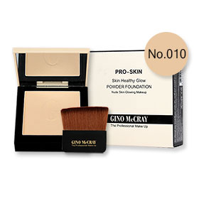Beauty Buffet GINO McCRAY The Professional Makeup Skin Healthy Glow Powder Foundation 9g #No.010 Light