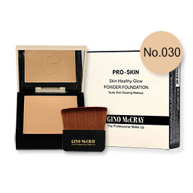 Beauty Buffet GINO McCRAY The Professional Makeup Skin Healthy Glow Powder Foundation 9g #No.030 Warm Honey
