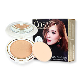Mistine Cosmo Smooth And Clear Super Powder SPF 25 PA++ 10g #S2 ผิวกลาง