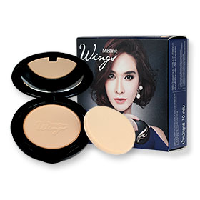 Mistine Wings Extra Cover Super Powder SPF 25 PA++ #S1 ผิวขาว