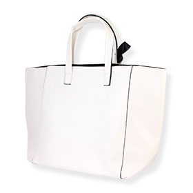 Lancome Carrying Arm Bag #White (Big)