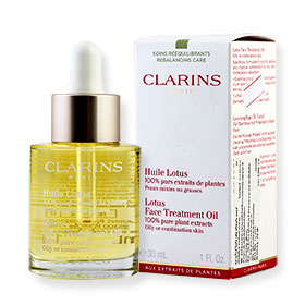 Clarins Huile Lotus Face Treatment Oil 30ml