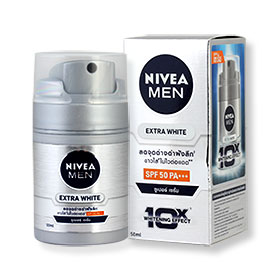 NIVEA Men Extra White Super Serum SPF50 PA+++ 50ml