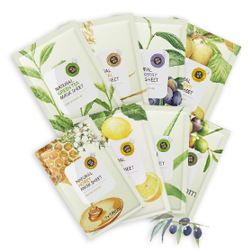 The Saem Natural Mask Set 8 sheets