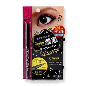Kiss Me Heavy Rotation Marker Pen Eyeliner #Deep Black