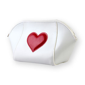 Laura Mercier Leather Bags Heart 2016