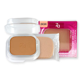 Za Perfect Fit Two-Way Foundation SPF20 PA++ Refill 9g (OC20) #40228