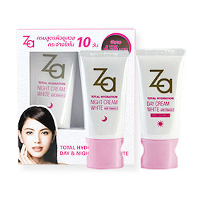 Za Total Hydration Day & Night Cream White Set #95020