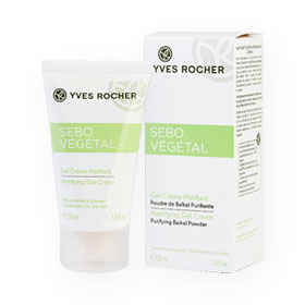 Yves Rocher Sebo Vegetal Matifying Gel Cream 50ml