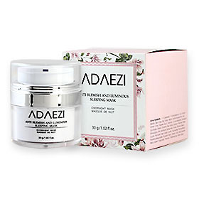 Adaezi Anti Blemish And Luminous Sleeping Mask Overnight Mask 30g