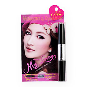 Mistine My Love Mascara & Liner (5g+3g) #Black