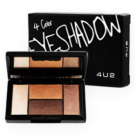 4U2 4 Color Eyeshadow 4.5g #02 Calm