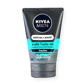 NIVEA Men White Acne-Oil Control Cooling Mud Foam 100g