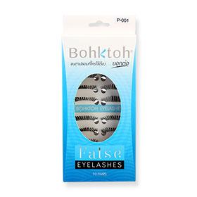 Bohktoh Eyelash 10Pairs #P-1