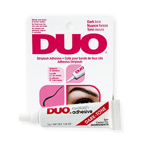 DUO Striplash Adhesive #Dark Tone 7g(Red)