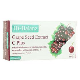 Hi-Balanz Grape Seed Extract C Plus  30Capsules