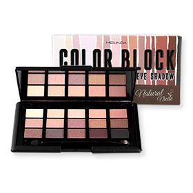 Mei Linda Color Block Eye Shadow 15g #MC3074-01 Natural Nude