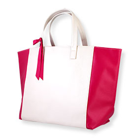 Lancome Carrying Arm Bag #Creamy-Pink (Big)