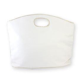 Lancome A White Cloth Bag (Big)