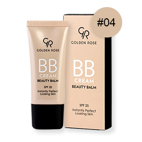 Golden Rose BB Cream Beauty Balm SPF25 30ml #04 Medium