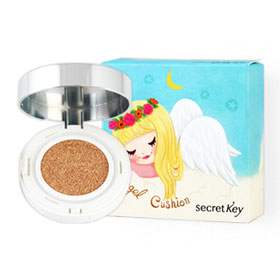 Secret Key Face Coating Angel Cushion SPF50+/PA+++ (Refill) 20g #01 White Angel (FREE! Case) Pure Angel Edition