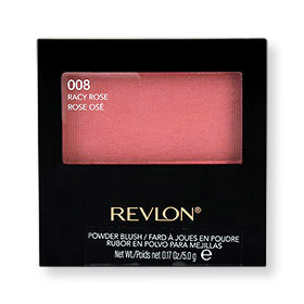 Revlon Powder Blush With Blush 5g #008 Racy Rose