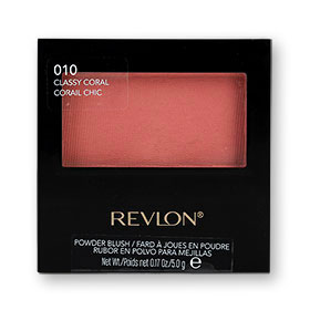 Revlon Powder Blush With Blush 5g #010 Classy Coral