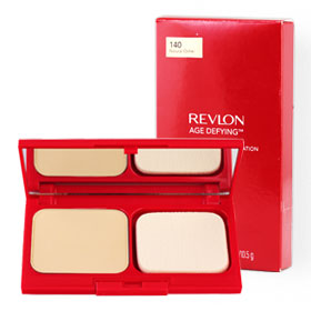 Revlon Age Defying Two-Way Powder Foundation SPF14/PA+++ 10.5g #140 Natural Ocher