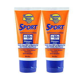 ซื้อ 1 แถม 1 Banana Boat Sport Sunscreen Lotion SPF50+PA+++ (90mlx2pcs)