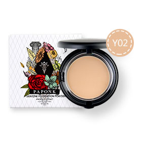 Paponk Skintone Foundation Powder Y02
