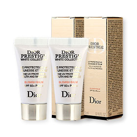 แพ็คคู่ Dior Prestige White Collection Blemish Balm SPF50+ PA+++ (5mlx2pcs)