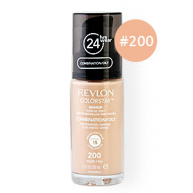 Revlon Colorstay Makeup Combination/Oily Skin SPF15 30ml #200 Nude/Nu