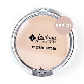 Jordana Pressed Powder 8.03g #PPP-01 Natural Beige