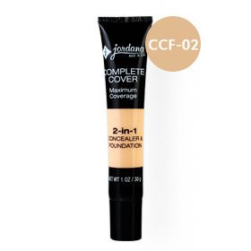 Jordana 2-IN-1 Concealer & Foundation 30g #CCF-02 Classic Beige