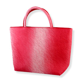 Shiseido Rectangular Red Velvet Bag