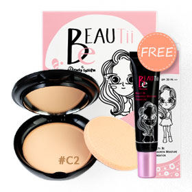 Beautii Be Ultimate Powder  SPF30 PA++ 9g #C2 (Free! Sunscreen Moisture Foundation  SPF30 PA++ 15g)