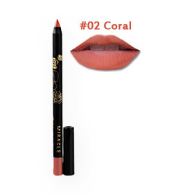 Mei Linda Miracle Color Fit Lip Liner #02 Coral
