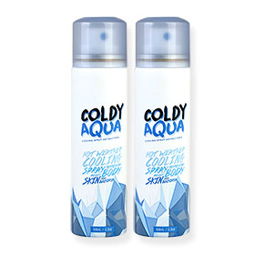 แพ็คคู่ Coldy Aqua Cooling Spray Antibacteria (68mlx2)