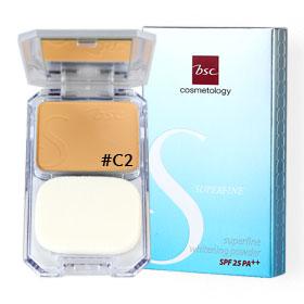 BSC Superfine Whitening Powder Foundation SPF25 PA++ 11g #C2