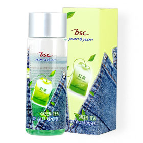 BSC Jean&Jean Green Tea Eye & Lip Remover 100ml