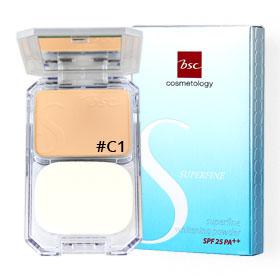 BSC Superfine Whitening Powder Foundation SPF25 PA++ 11g #C1