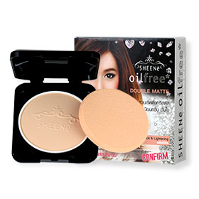 Sheene Oil Free Double Matte Powder Cake SPF25 PA++ Refill 9g #C1