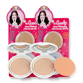 ซื้อ 1 แถม 1  Sheene Lovely Aura Whitening Cake Powder SPF20 (9gx2pcs) #C1