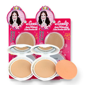 ซื้อ 1 แถม 1  Sheene Lovely Aura Whitening Cake Powder SPF20 (9gx2pcs) #C2