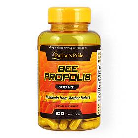 Puritan's Pride Bee Propolis 500MG 100Capsules