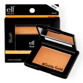 elf Blush 4.75g #83140 Giddy Gold